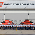All Hands Unit Photo With Flags Wm by Gregory Daley  MPSA