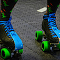 All Natural Disaster's Skates by Mike Martin