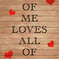 All Of Me Loves All Of You by Dan Sproul