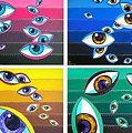 All Pictures With Eyes by Margarita Basalyga