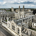 All Souls College - Oxford University by Stephen Stookey