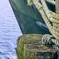 All Tied Up In Port Jefferson No 1 by Cheryl Kurman