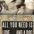 All You Need Is A Dog by Kathy Tarochione