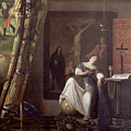 Allegory Of The Faith by Jan Vermeer