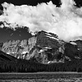 Allen Mountain Towers Over Swift Current Lake by Craig Tata