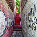Alley At Chapelhill by Inho Kang