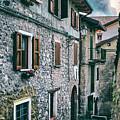 Alley In An Alpine Village #1 by Claudio Lepri