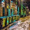Alley In Uptown Chicago Dsc2687 by Raymond Kunst