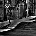 Alley Stroll by David Patterson