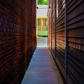 Alleyway To Green by Bruce Coulter