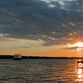 Alliance Sunset Sail by Nancy Comley