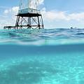 Alligator Reef Lighthouse by Robert Stein