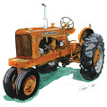 Allis Chalmers Tractor by Ferrel Cordle