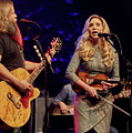 Allison Krauss With Jamey Johnson by Chuck Spang