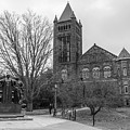 Alma Mater And Law Library University Of Illinois  by John McGraw