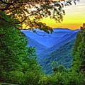 Almost Heaven - West Virginia 3 - Paint by Steve Harrington
