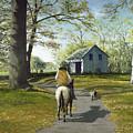 Almost Home 16x20 by Tony Scarmato