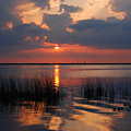 Almost Sunset In Florida by Susanne Van Hulst