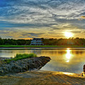 Almost Sunset In Pawleys Island by TJ Baccari