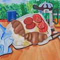 Almyrida Luncheon by James Lavott