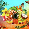 Aloha Tropical Fruits By Kaye Menner by Kaye Menner