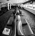 Alone At The Airline Gate by Cary Leppert