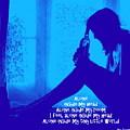 Alone In Blue by Guy Pettingell