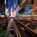 Alone In New York City 2 by Jeff Breiman