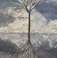 Alone Tree by Vladimir Moisejevs