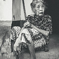 Balinese Old Woman by Sulendra Wayan