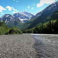 Along Eagle River- Eagle River, Alaska by Amber D Meredith Photography