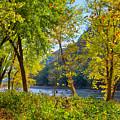 Along The Shenandoah River by John M Bailey