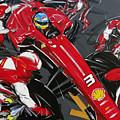 Alonso Ferrari 3 by Roberto Muccilo