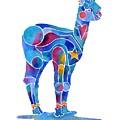 Alpaca Cria Heartz N Starz by Jo Lynch