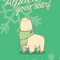 Alpaca Your Scarf by Tanner Thompson and Matthew Nightingale