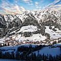 Alpbach Winter Landscape by Anthony Dezenzio