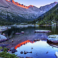 Alpenglow by Lesley Prentice