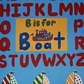 Alphabet Boat by Valerie Carpenter