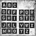 Alphabet by Clayton Bastiani