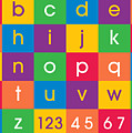 Alphabet Colors by Michael Tompsett