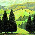 Alpine Hills by Richard Votch