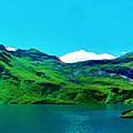 Alpine Lake, Ca 2017, Byy Adam Asar ,  In 3d Watercolor by Adam Asar