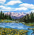 Alpine Lake Colorado Usa by Nancy Rucker