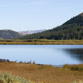Alpine Lake In The Arapahoe National Forest by Steve Krull