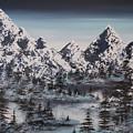 Alpine Peaks by Irina Rumyantseva