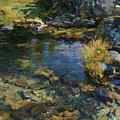 Alpine Pool by John Singer Sargent