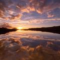 Alpine Sunset by Darren White