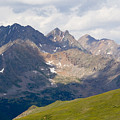 Alpine Tundra And The Colorado Continental Divide by Steve Krull