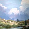 Alpine Vale by John Wise