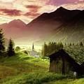 Alpine Village by Troy Caperton